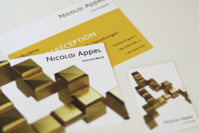 Visuel Identitet til Nicolai Appel