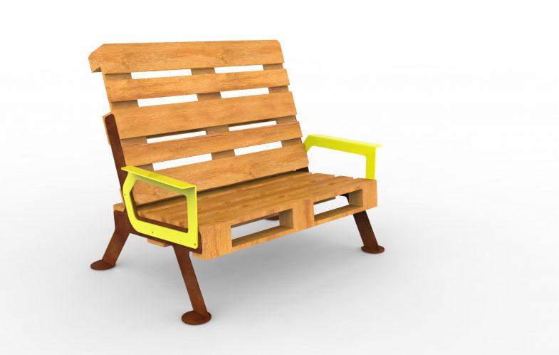 Darling w. armrest and lawnfeet