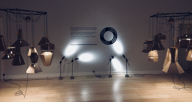 50 Lamps to Take Away exhibition from Dec. 1st to 17th in Copenhagen